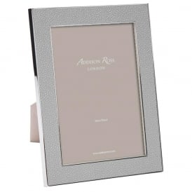 Faux Shagreen Grey Frame