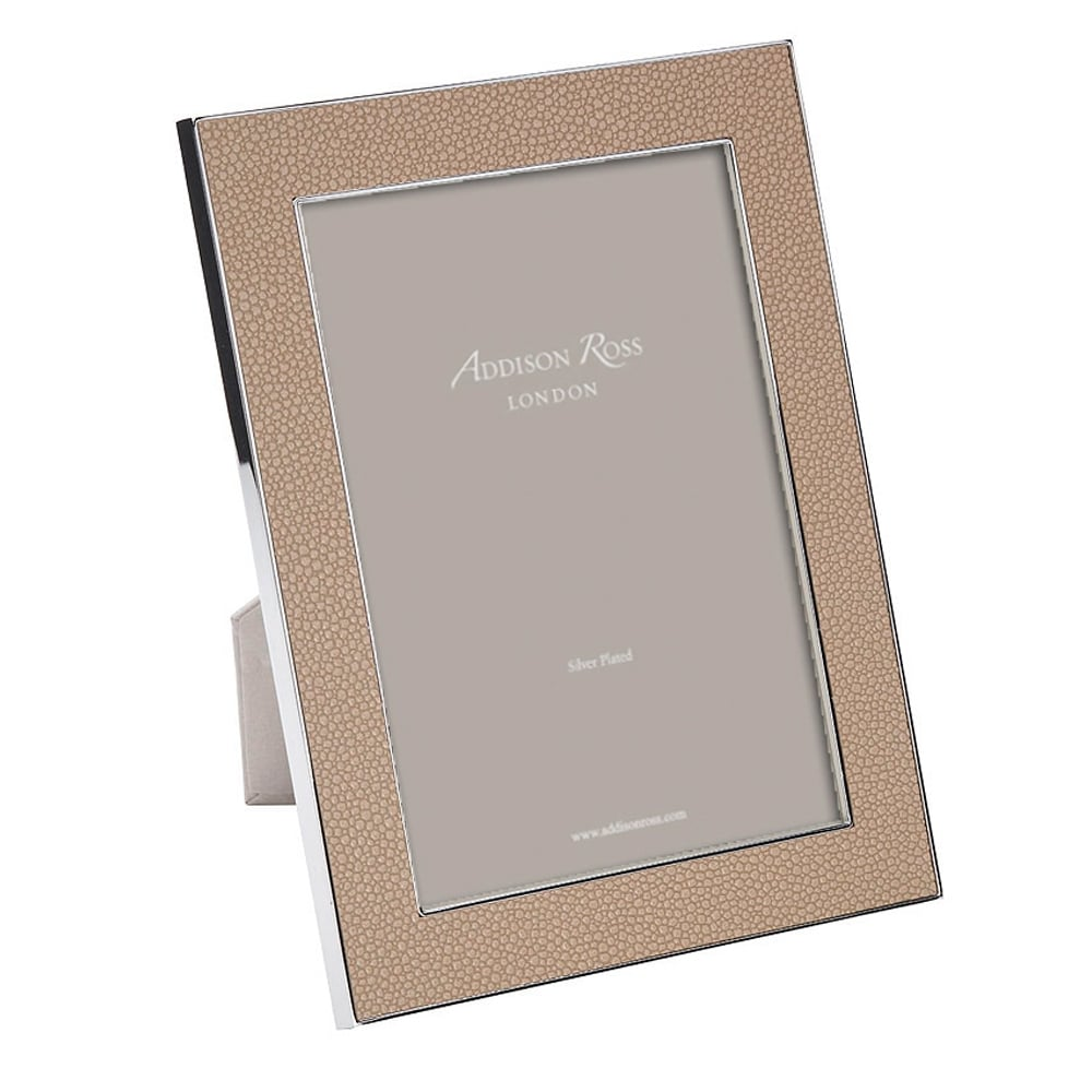 Addison Ross Small Faux Shagreen Sand Frame