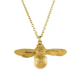 22ct Gold Plated Baby Bee Necklace