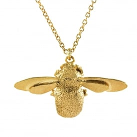 22ct Gold Plated Bumblebee Necklace