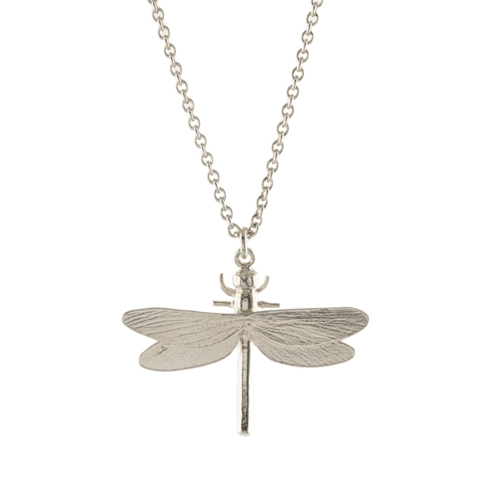 necklace dragonfly diamond pendant rox