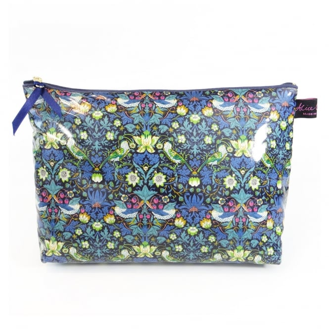 Alice Caroline Strawberry Thief Wash Bag