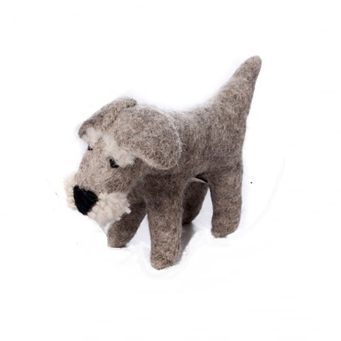 Amica Accessories Felted Wool Schnauzer Small