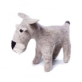 Felted Wool Schnauzer Large