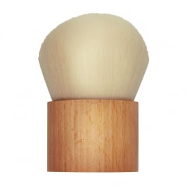 Wooden Kabuki Powder Brush