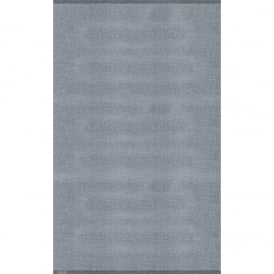 Cushion Vinyl Plain Light Grey Flatwoven Mat