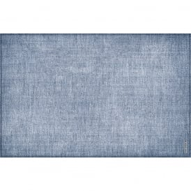 Vinyl Plain Light Blue Placemat