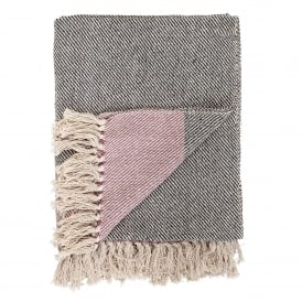 Rose Cotton Throw