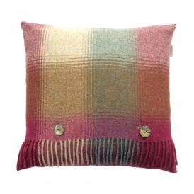 Lambswool Elemental Kilnsey Rhodolite Cushion