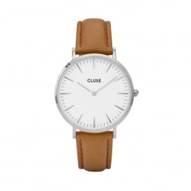 La Bohème Silver White/Caramel Watch