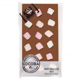 Marshmallow Coated Milk Chocolate Bar