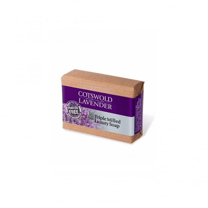 Cotswold Lavender Lavender Triple Milled Luxury Soap