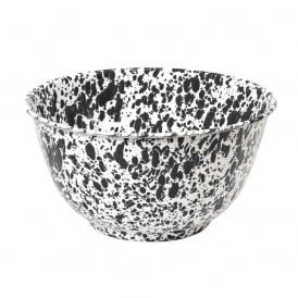 Speckled Enamel Salad Bowl