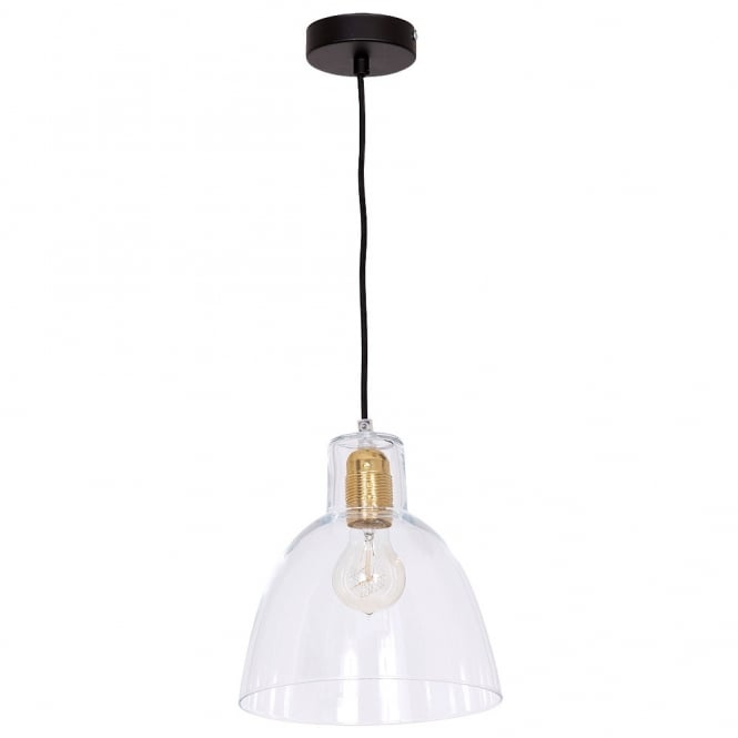 Culinary Concepts Bell Glass Pendant Light