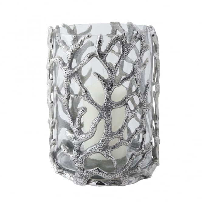 Culinary Concepts Coral Hurricane Lantern - Small