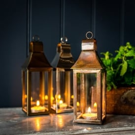 Mini Tonto Lantern - Burnished Copper