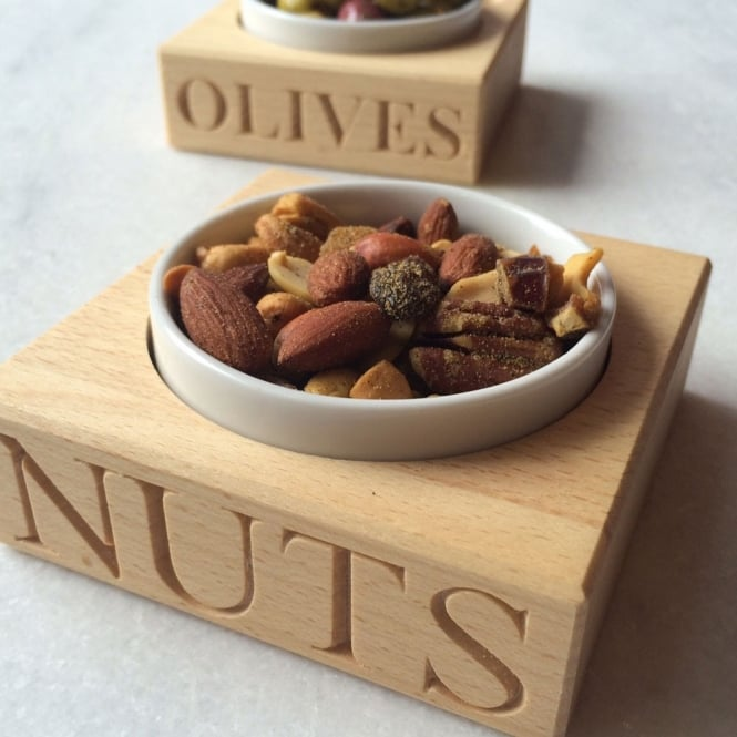 Culinary Concepts 'Nuts' Beech Wood Set