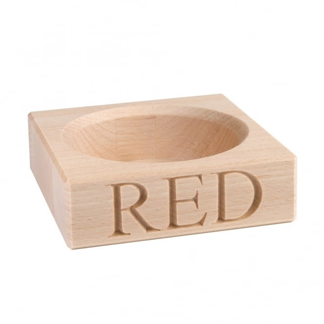 Culinary Concepts 'Red' Beech Wood Single Bottle Stand