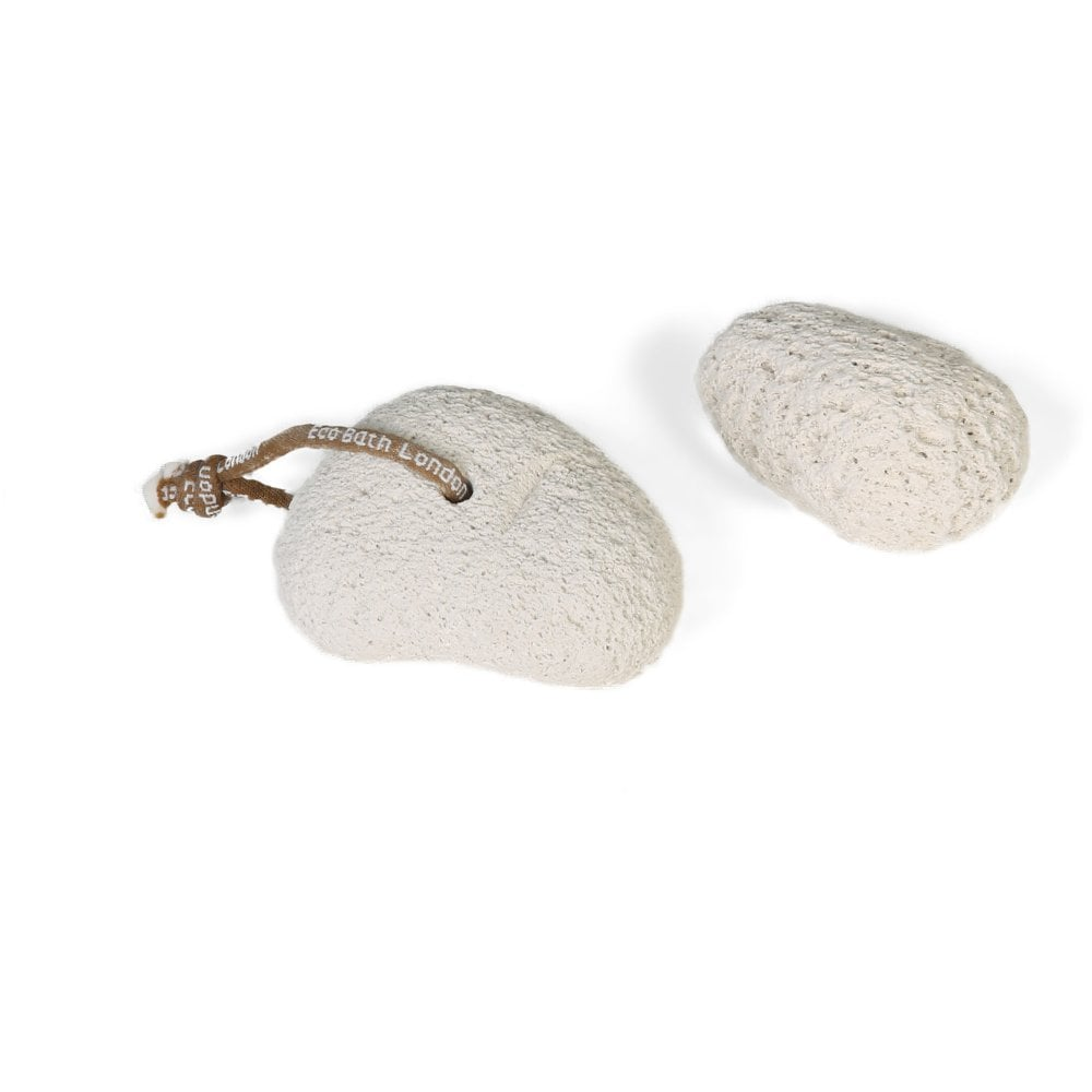 Natural Pumice Stone - Smooth with Rope