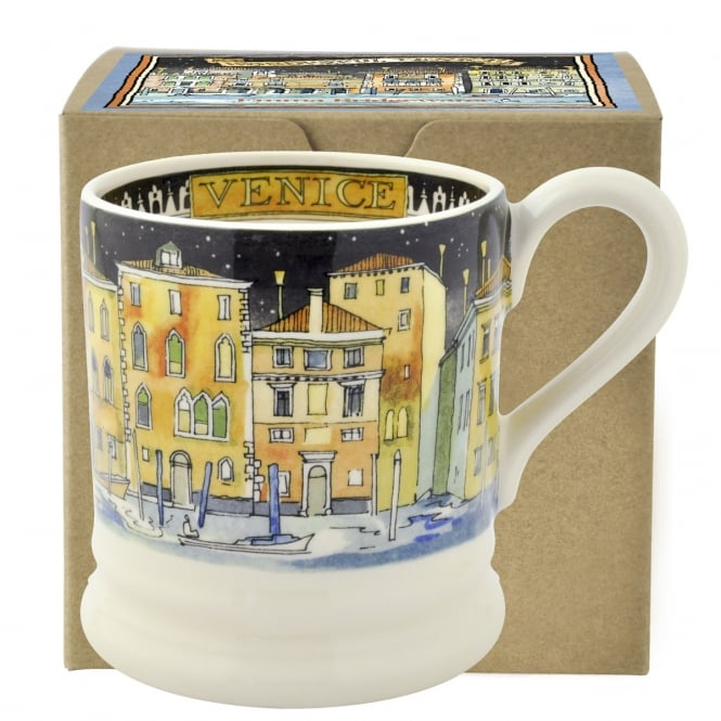 Emma Bridgewater Cities of Dreams Venice Half Pint Mug Boxed