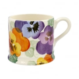 Purple Pansy Small Mug