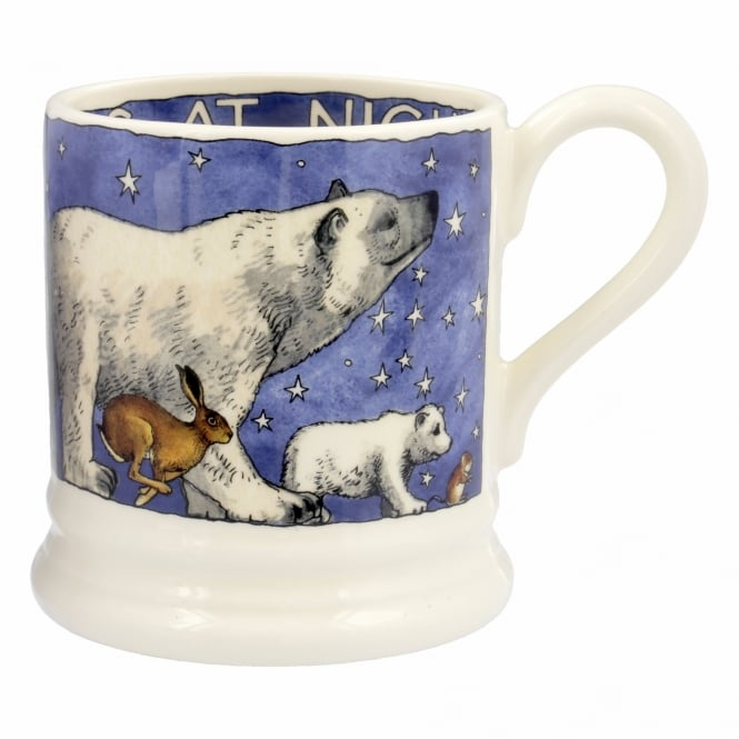 Emma Bridgewater Winter Animals Half Pint Mug