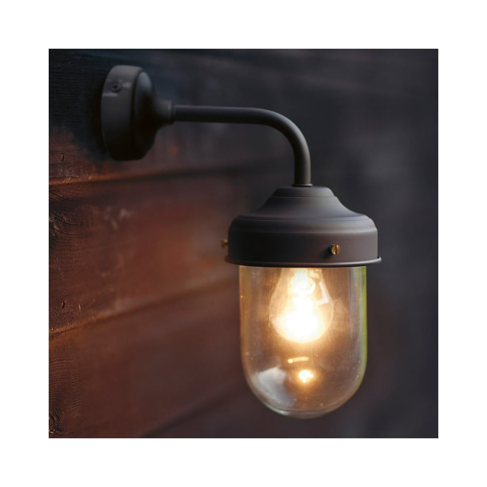 are what a porch barn sconce lights on