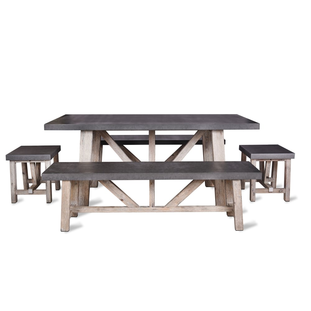 Garden Trading Chilson Table And Bench Set Small