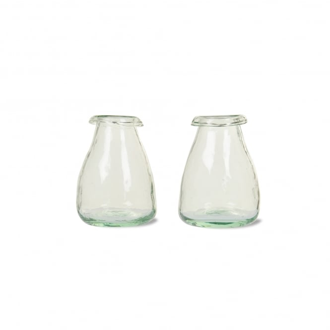 Garden Trading Set of 2 Recycled Bud Vases