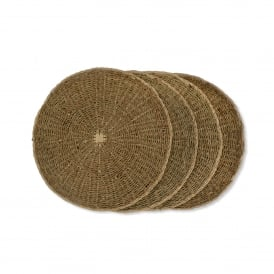 Set of 4 Seagrass Placemats
