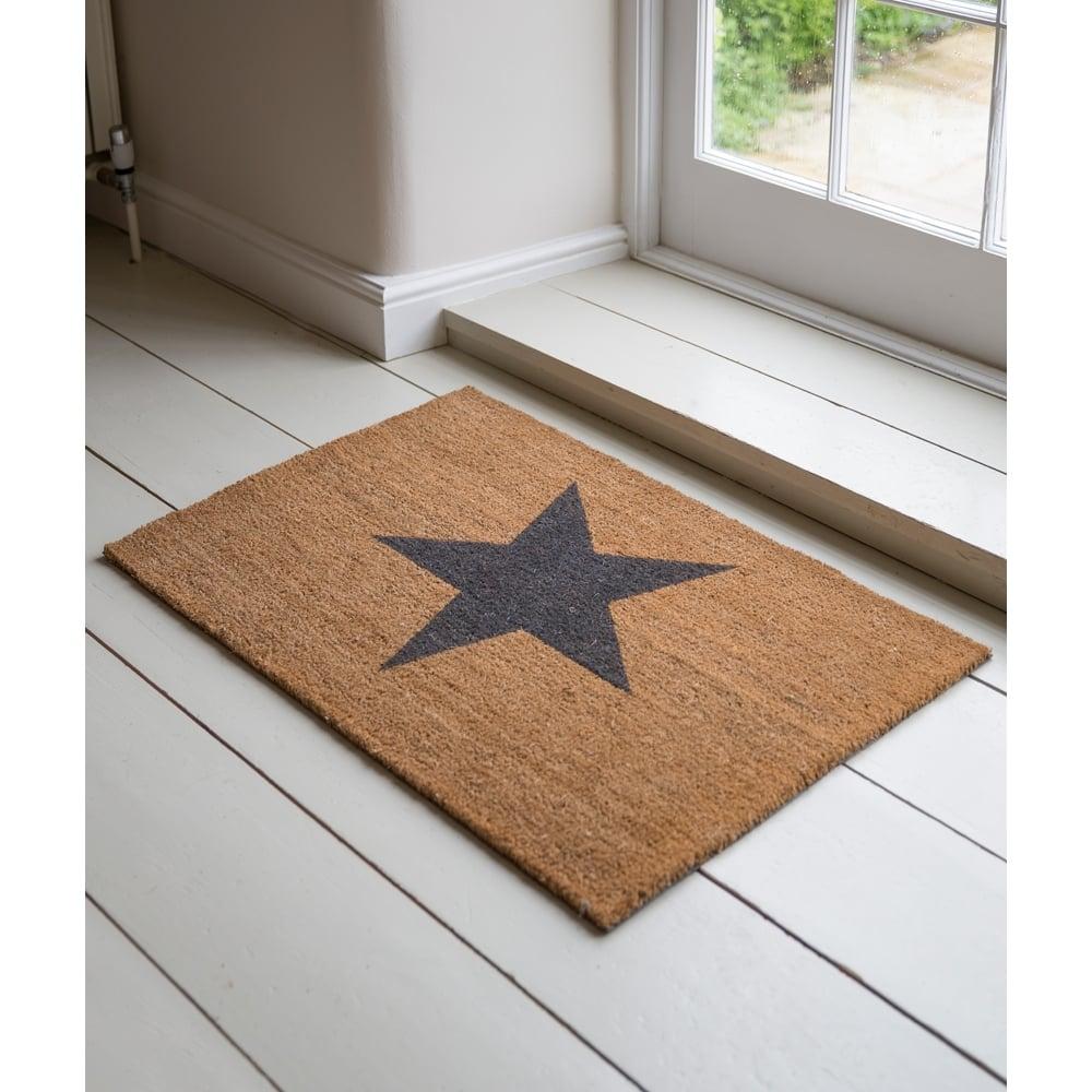 Star Coir Doormat