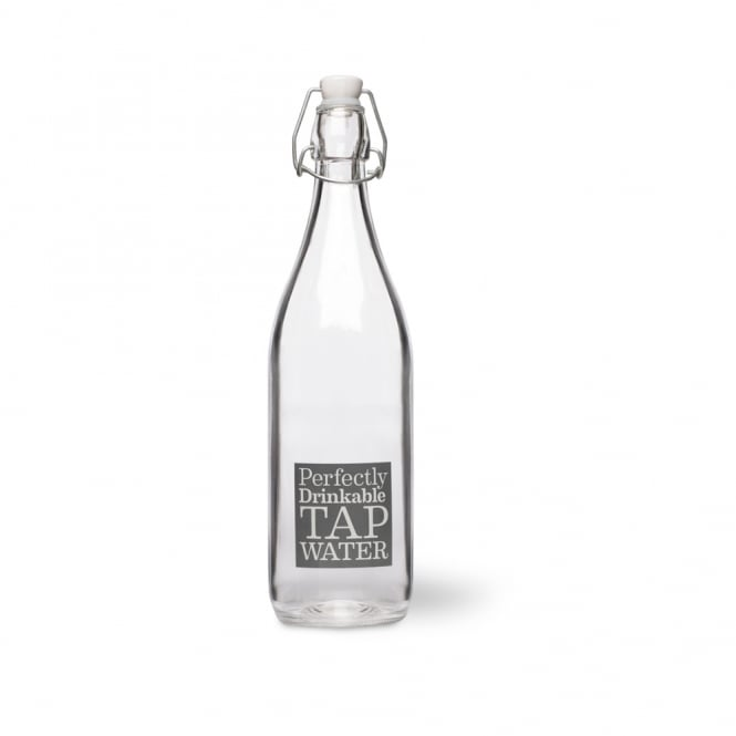 Garden Trading Tap Water Glass Bottle