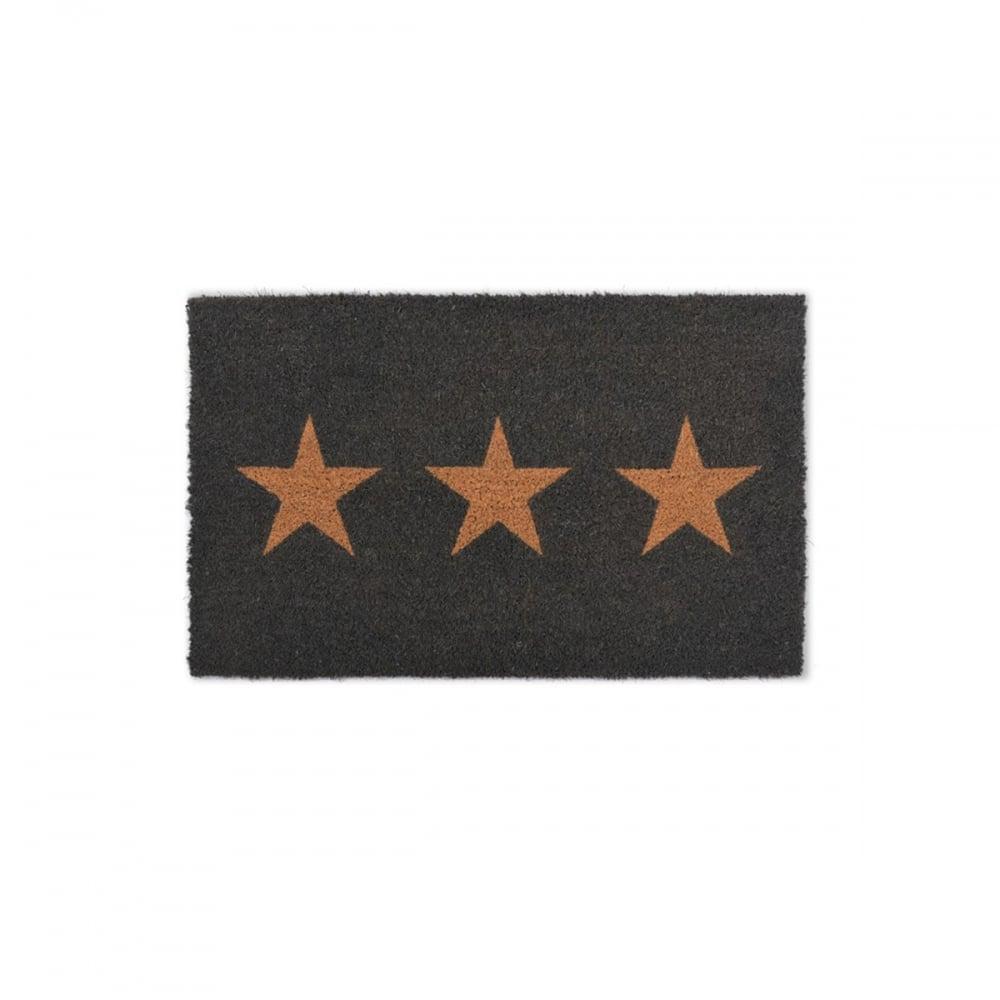 Garden Trading Three Stars Coir Doormat