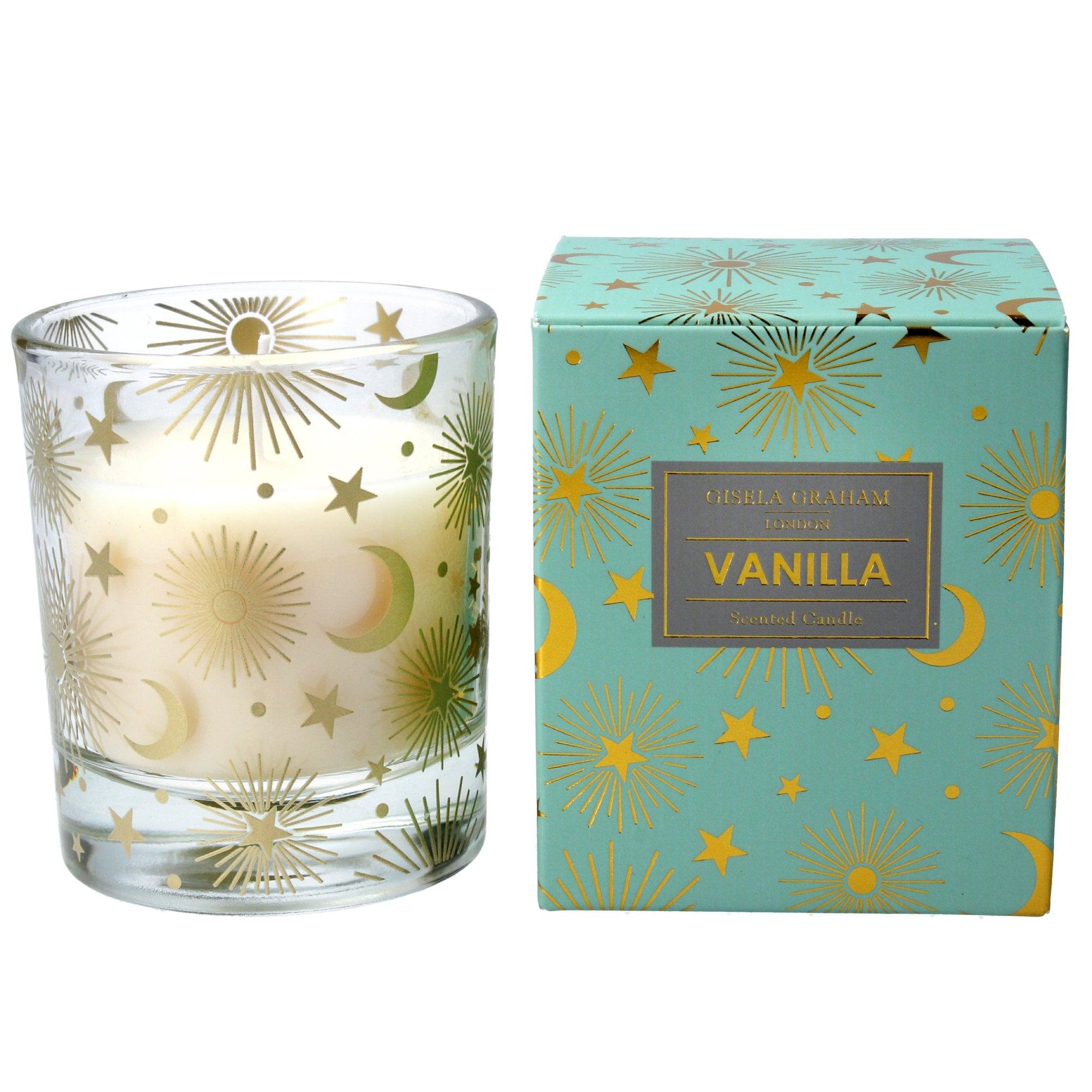 Gisela Graham Celestial Vanilla Scented Candle Large