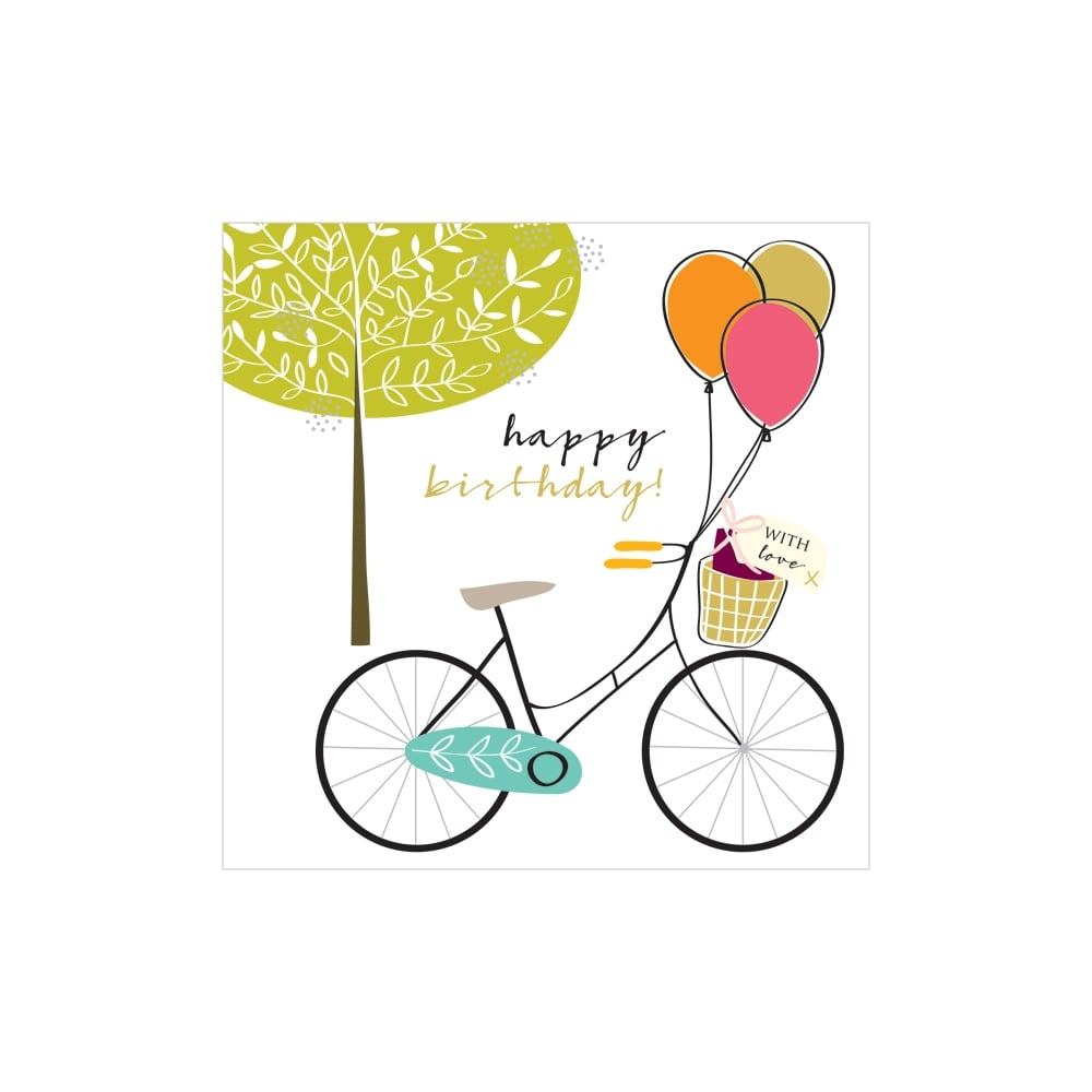 happy birthday bicycle Happy Birthday Bicycle Card happy birthday bicycle