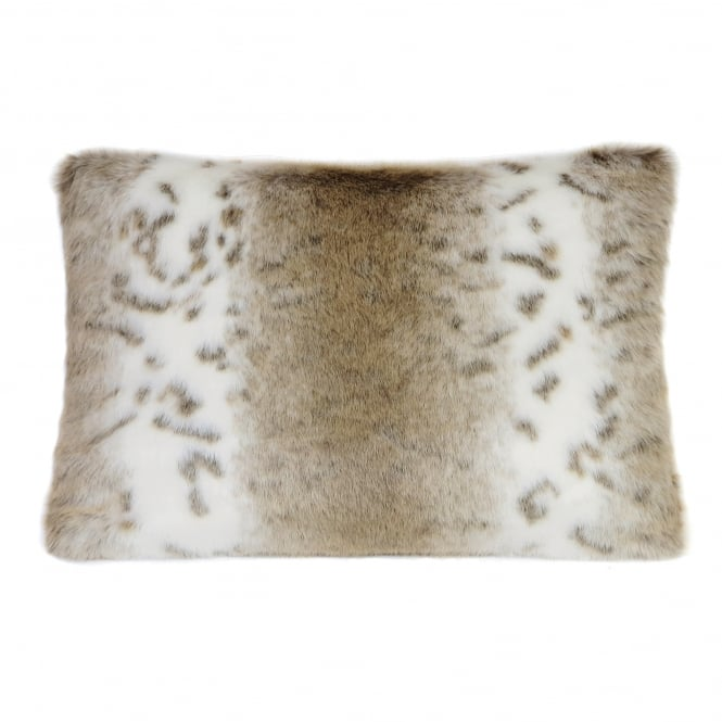 Helen Moore Lynx Faux Fur Cushion