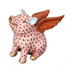 When Pigs Fly Figurine
