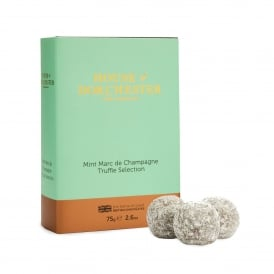 Mint Marc de Champagne Truffles Book Box