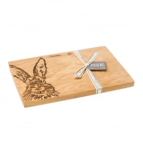 Just Slate Hare Serving Board