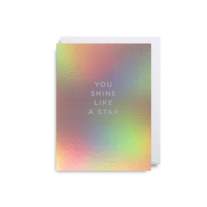 Lagom Design Shine Like a Star Cherished Mini Card