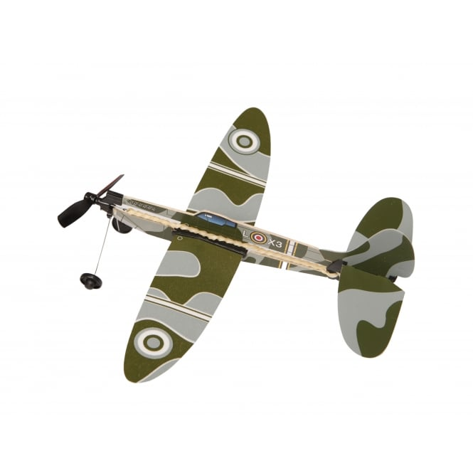 Lagoon Rubber Band Powered Spitfire