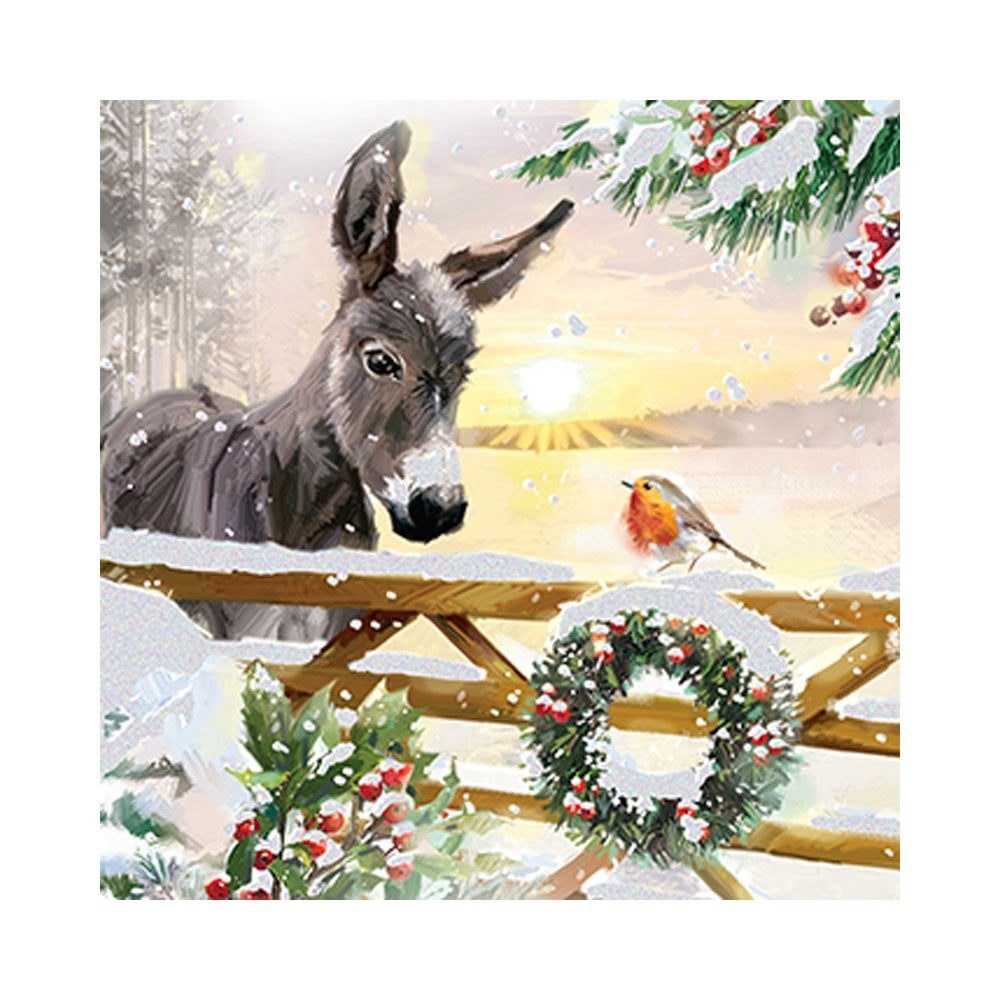 Ling Design Festive Friends Pack Of 10 Christmas Cards