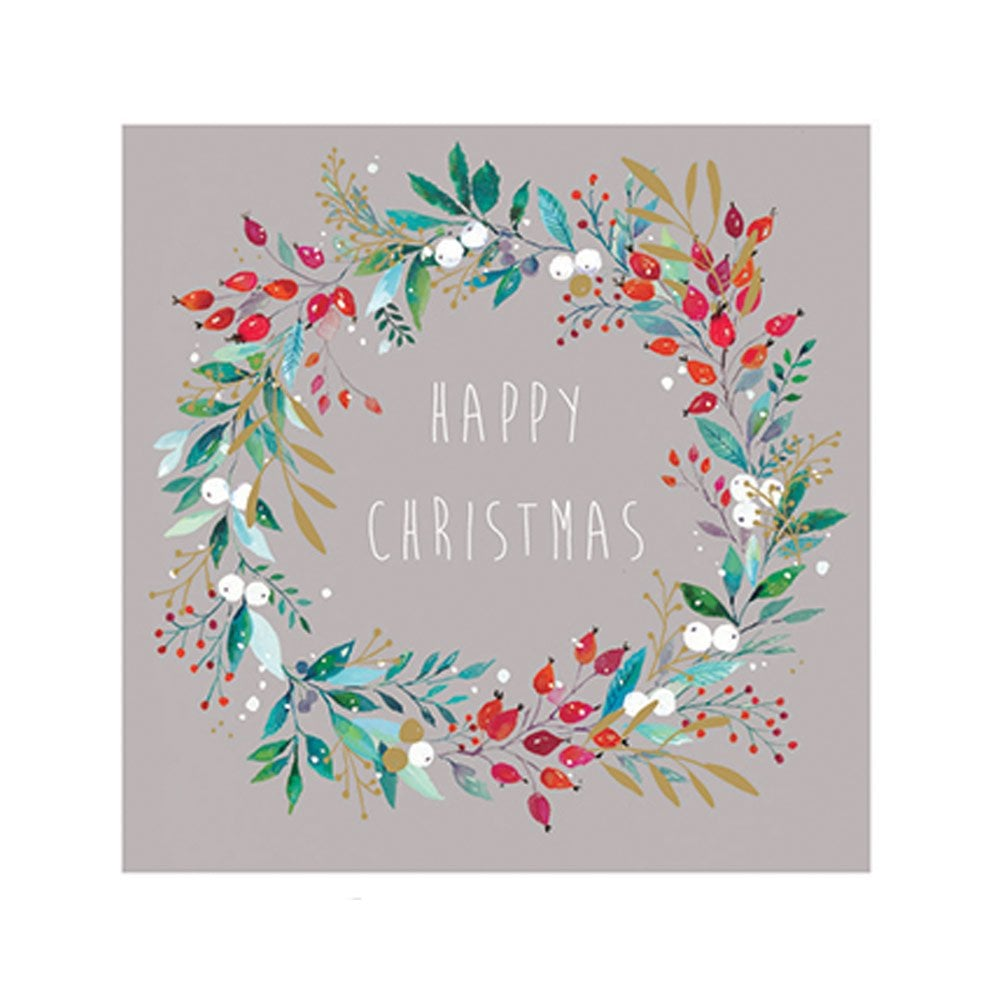 Christmas Design.Frosty Berry Pack Of 10 Christmas Cards
