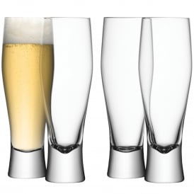 Bar Lager Glass Set of Four