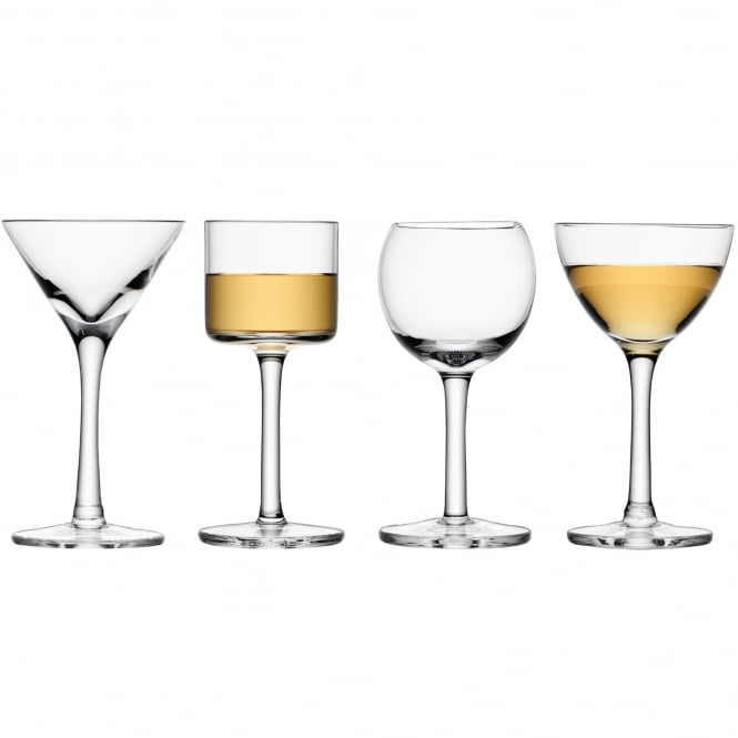LSA International Lulu Liqueur Glass Set Of Four