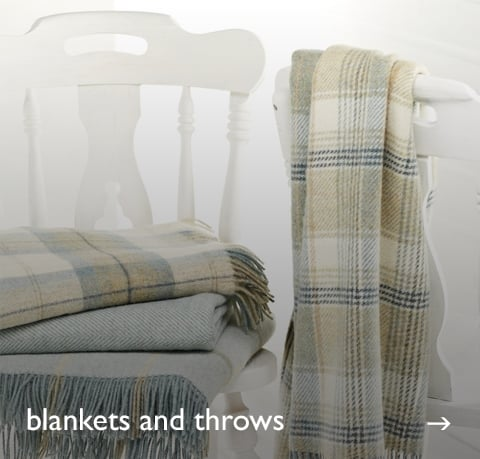 Blankets & Throws at Cotswold Trading