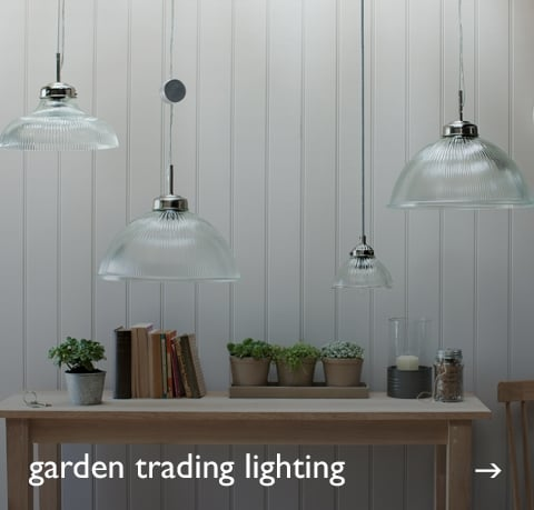 Garden Trading Lighting at Cotswold Trading
