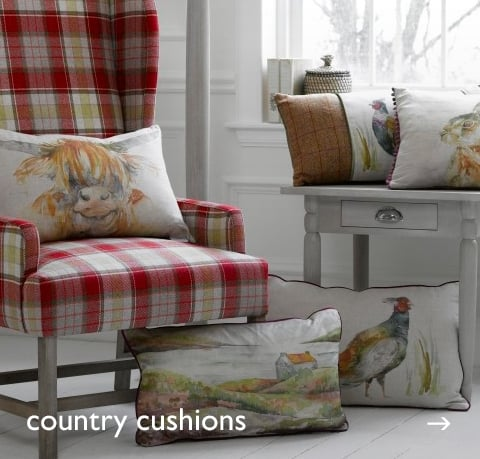 Animal Cushions at Cotswold Trading