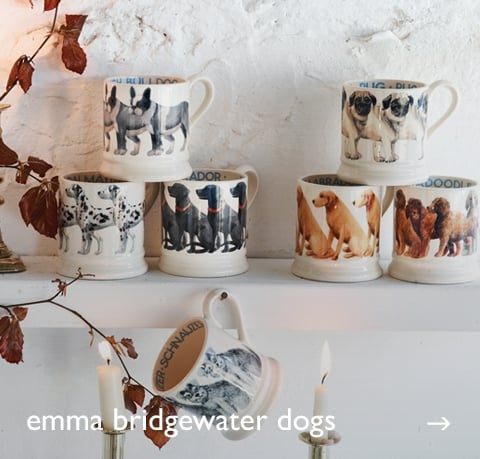 Emma Bridgewater Dogs at Cotswold Trading