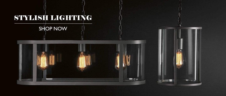Stylish Lighting at Cotswold Trading